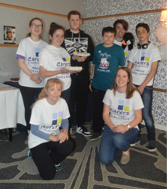 Young Carers coffee am Carers Week 2016