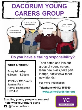 Dacorum young carers group